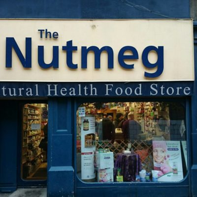The Nutmeg Logo