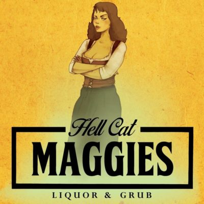 Hell Cat Maggie's Logo