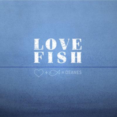 Deanes Love Fish Logo