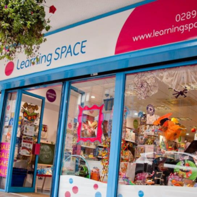 Learning SPACE Belfast City Centre Shop Front
