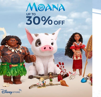 Up To 30% Off Moana