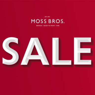 Moss Bros. Sale