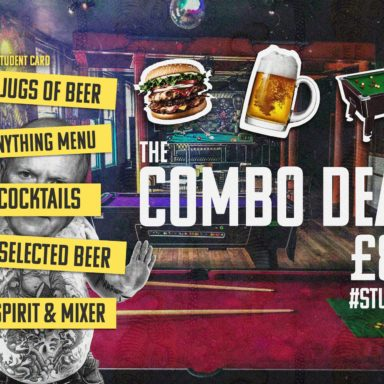 Student offer £8 combo menu at DIVE