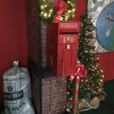 Post your letter the post box