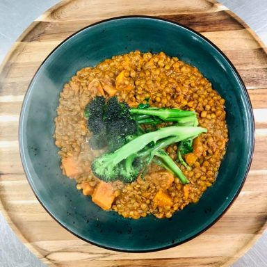 havana   veg Spiced Chickpea & Tomato Ragu with Tenderstem Broccoli!