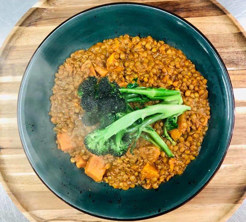 havana   veg Spiced Chickpea & Tomato Ragu with Tenderstem Broccoli!