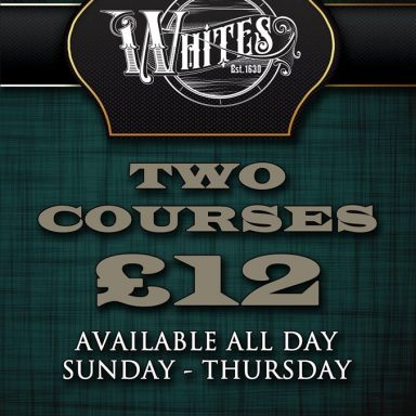 Two Courses for £12!