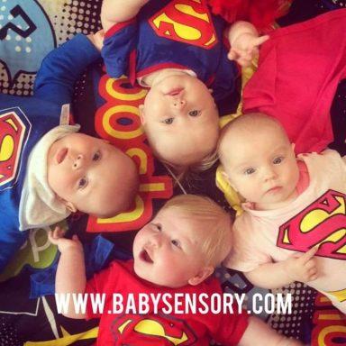Baby Sensory Superhero special