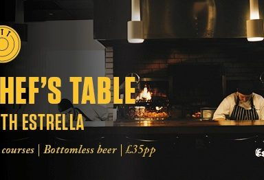 Chef's Table with Estrella