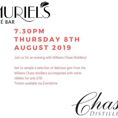 An evening with Williams Chase Distillery