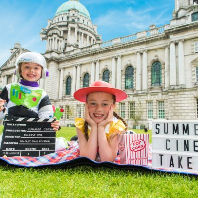 Summer Cinema at City Hall is back!