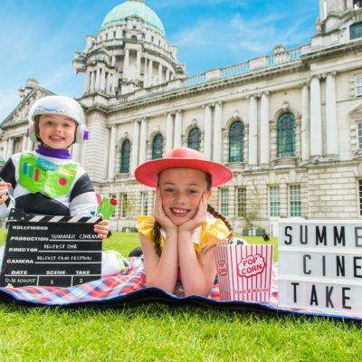 Summer Cinema at City Hall is back!