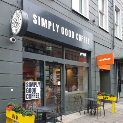 Simply Good Coffee: The quirky and cosy cafe on Howard Street