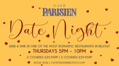 Cafe Parisian Date Night
