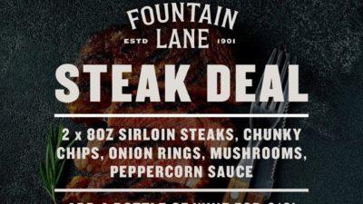 Steak Deal at Fountain Lane