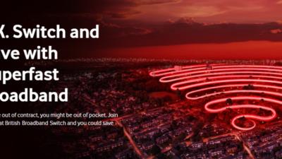 Vodafone Superfast Home Broadband