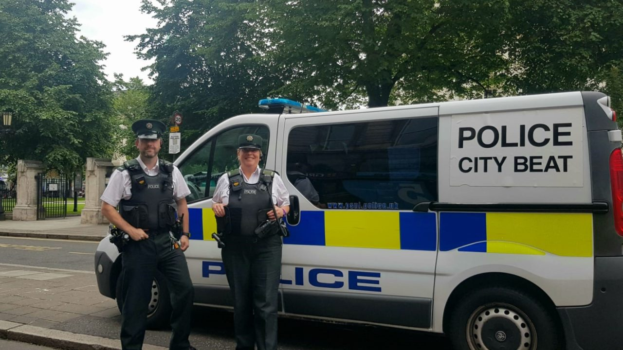 Belfast One City Centre Beat Officers