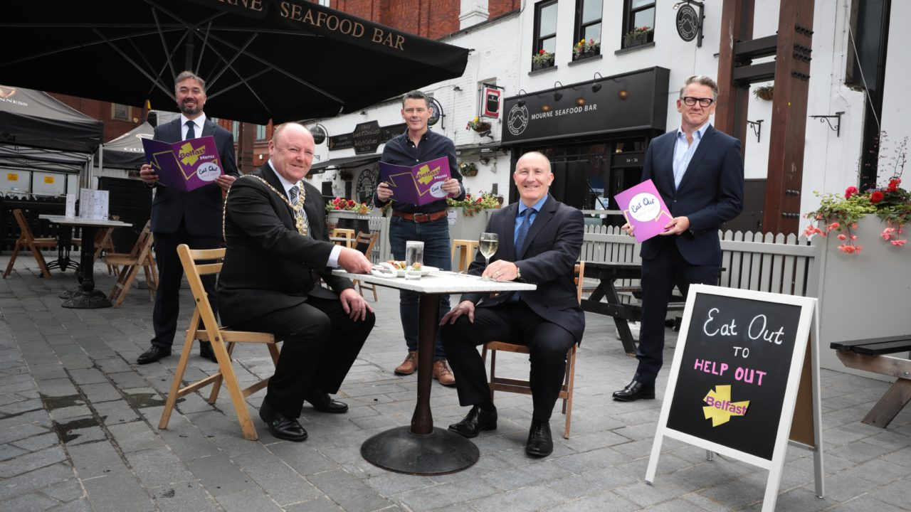 Visit Belfast. Belfast One, Linen Quarter & Destination CQ   Eat Out to Help Out