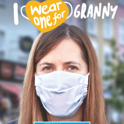 face coverings granny