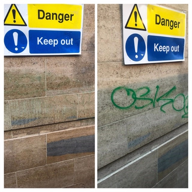 Linenhall graffiti 2
